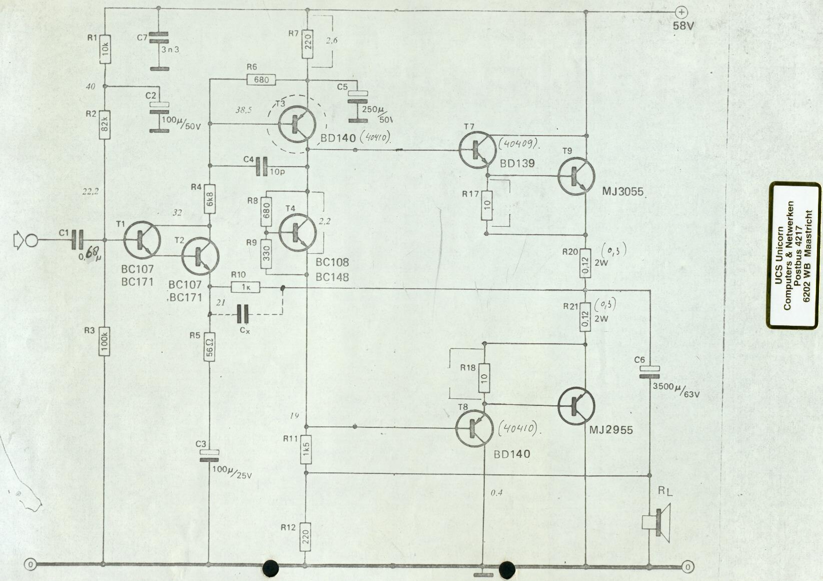 amplificatoare cu tranzistoare