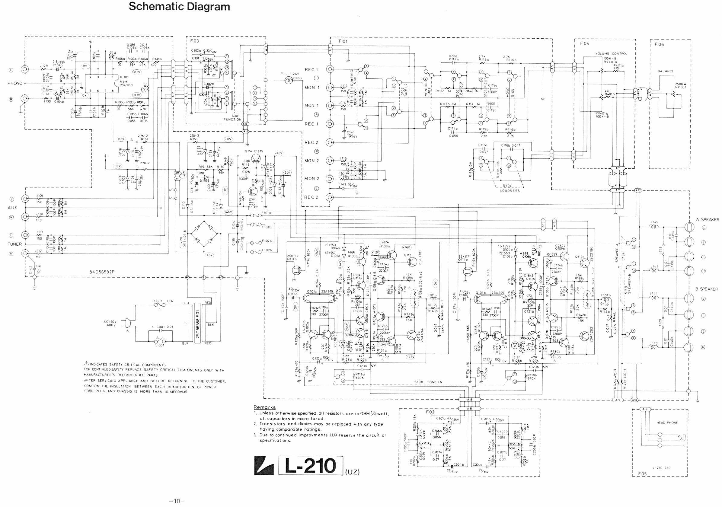 L Schematic readingratnet – Luxman Wiring Diagram