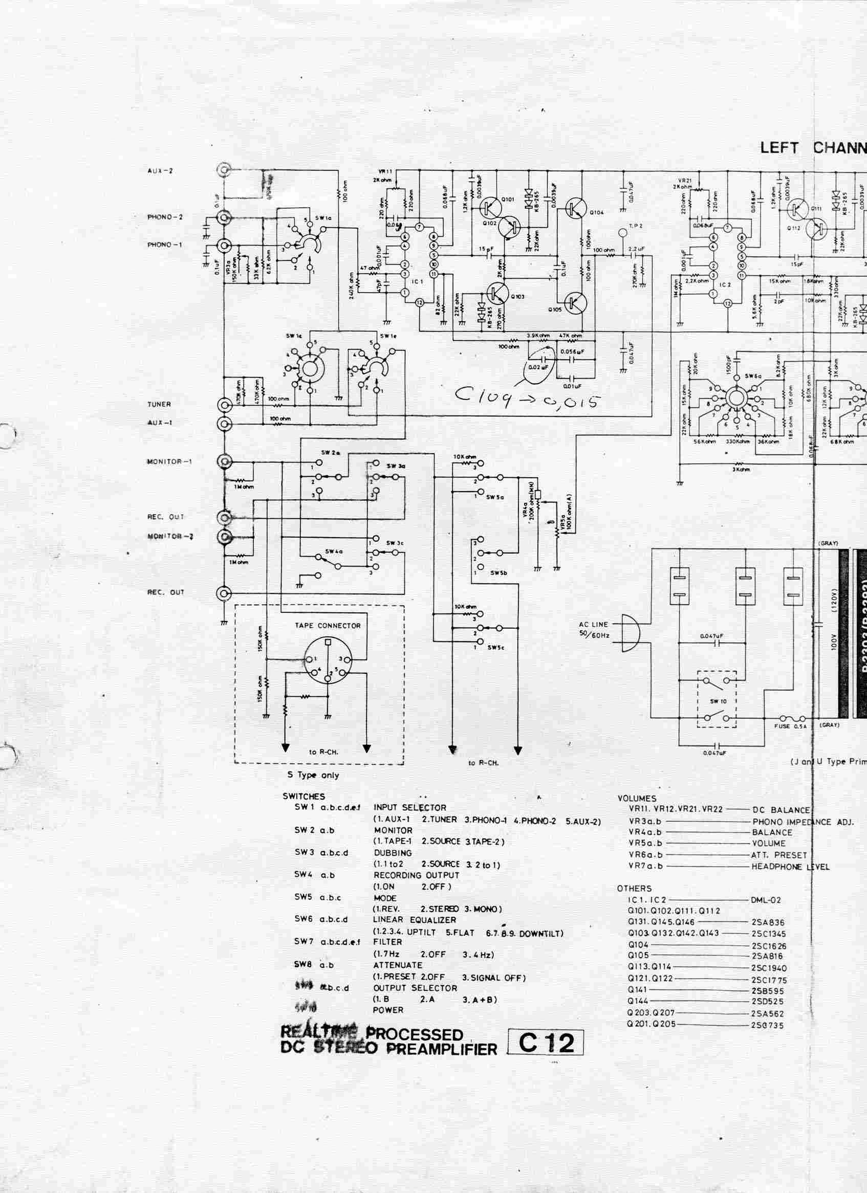 Luxman C12 Schematic Luxman audio products – Luxman Wiring Diagram