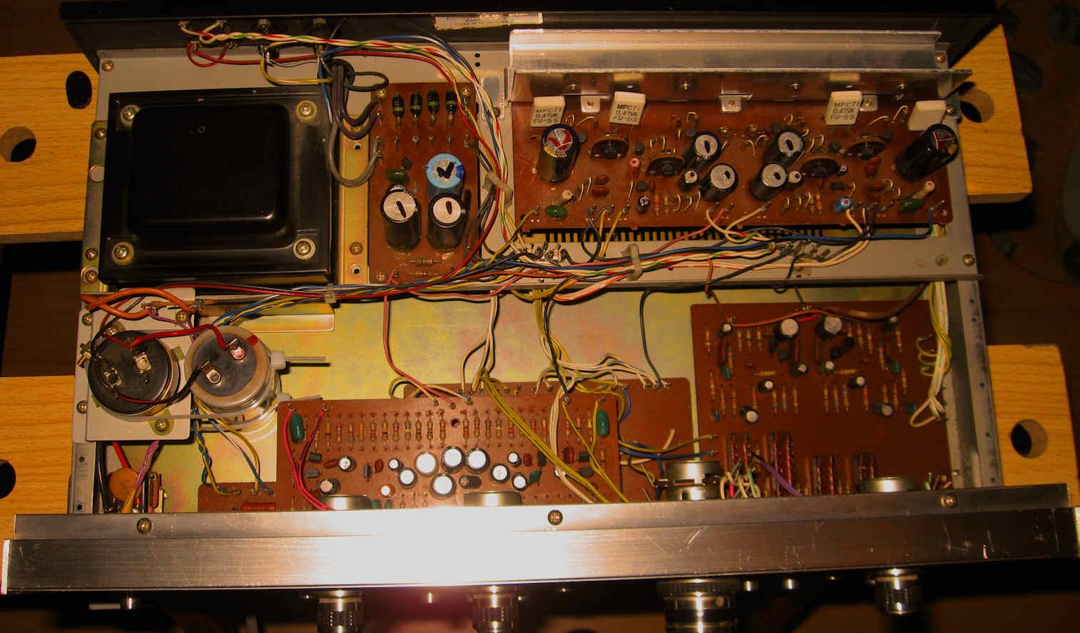 5210-2  Amp Schematic Wiring on