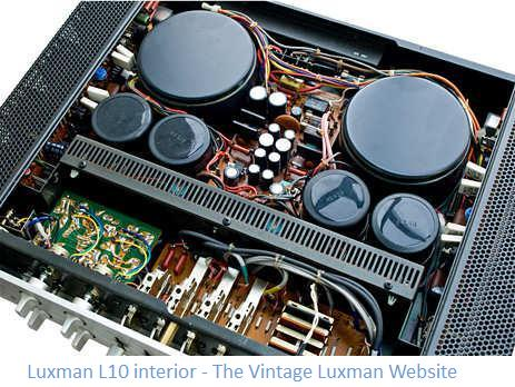 Luxman vintage audio products – Luxman Wiring Diagram