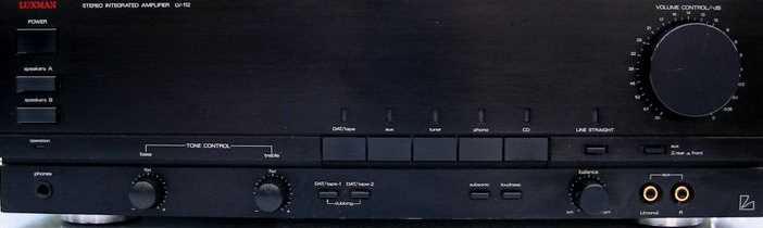 Service manual te 112 luxman d 112